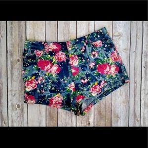 TCEC Floral Shorts